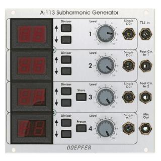 Doepfer A-113 Subharmonic Oscillator<img class='new_mark_img2' src='//img.shop-pro.jp/img/new/icons41.gif' style='border:none;display:inline;margin:0px;padding:0px;width:auto;' />