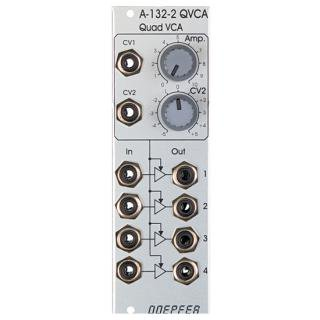Doepfer A-132-2 Quad VCA<img class='new_mark_img2' src='//img.shop-pro.jp/img/new/icons41.gif' style='border:none;display:inline;margin:0px;padding:0px;width:auto;' />