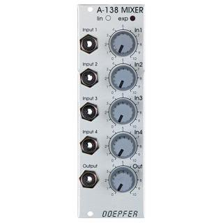 Doepfer A-138b Mixer Log