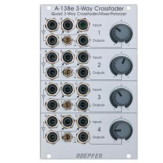 Doepfer A-138e Quad 3 Way Crossfader