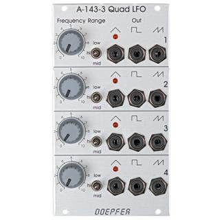 Doepfer A-143-3 Quad LFO<img class='new_mark_img2' src='//img.shop-pro.jp/img/new/icons41.gif' style='border:none;display:inline;margin:0px;padding:0px;width:auto;' />