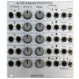 Doepfer A-143-4 QUAD VCLFO/VCO<img class='new_mark_img2' src='//img.shop-pro.jp/img/new/icons41.gif' style='border:none;display:inline;margin:0px;padding:0px;width:auto;' />