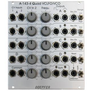 Doepfer | A-143-4 QUAD VCLFO/VCO