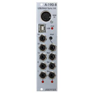 Doepfer A-190-8 USB/MIDI to Sync Interface