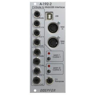 Doepfer A-192-2 CV/Gate to MIDI Interface