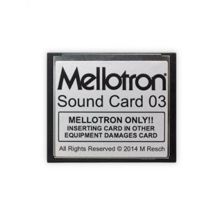 Mellotron Sound Card 03