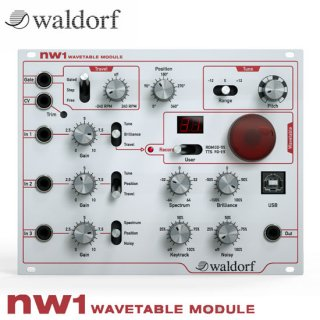 Waldorf | nw1 WAVETABLE MODULE