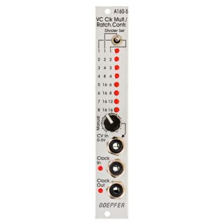 Doepfer   A-160-5 VC Clock Multiplier / Ratcheting Controller