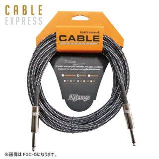 K・Garage | FGC-3 BLK/WHT オーディオケーブル3m
