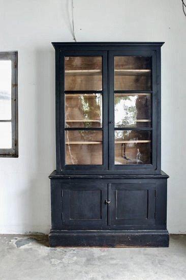 Black cupboard 145309363