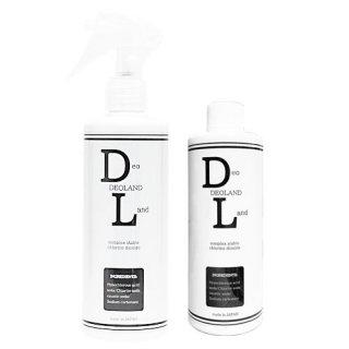 DEOLAND スプレー 300ml + 詰替ボトル 300ml セット