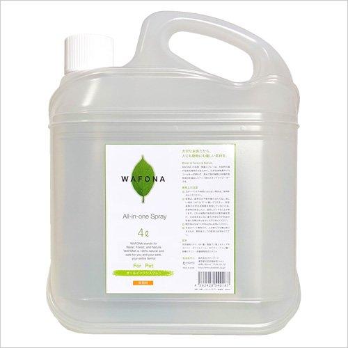 WAFONA 消臭・除菌スプレー 業務用4000ml