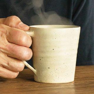 「フォント」マグカップ ミスティホワイト 大(NIS-02)
