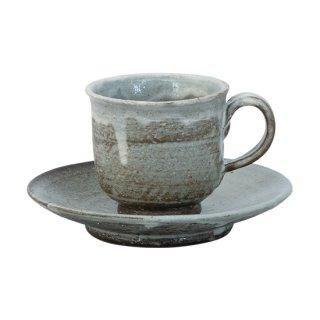粉引化粧 コーヒー碗皿(NKN-16)