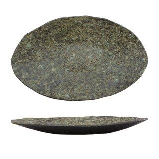 「優」陶片 楕円皿(NTH-23)