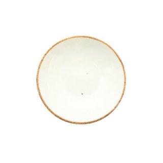 鉄彩 白 多用小皿(NIS-26)