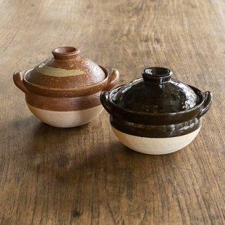 伊賀土鍋 雑炊鍋