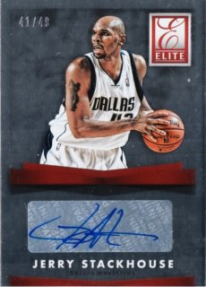 2015-16 Panini Donruss Elite Signatures Jerry Stackhouse【49枚限定】ミント札幌店 ウキウキ様
