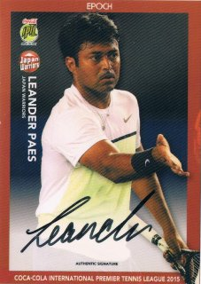 2015 EPOCH IPTL HOBBY Authentic Signatures Leander Paes 【24枚限定】 / MINT新宿店044 ハム.A様