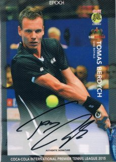 2015 EPOCH IPTL HOBBY Authentic Signatures Tomas Berdych 【30枚限定】 / MINT新宿店045 ハム.A様