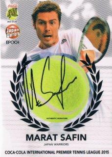 2015 EPOCH IPTL HOBBY Tennis Ball Signatures Marat Safin 【27枚限定】 / MINT新宿店048 ハム.A様