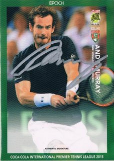2015 EPOCH IPTL HOBBY Authentic Signatures Andy Murray 【26枚限定】 / MINT新宿店059 ハム.A様