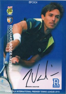 2015 EPOCH IPTL HOBBY Authentic Signatures Edouard Roger 【27枚限定】 / MINT新宿店060 ハム.A様