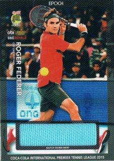 2015 EPOCH IPTL HOBBY Match Worn Shirts Roger Federer 【60枚限定】 / MINT新宿店061 ハム.A様