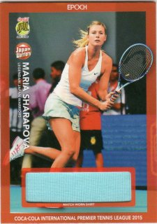 EPOCH IPTL テニスカード HOBBY M.SHARAPOVA シャツカード【65枚限定】ミント千葉店 千葉龍様