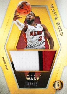 2015-16 Panini Gold standard White Gold Threads Dwyane Wade【25枚限定】ミント札幌店 かべたろう様