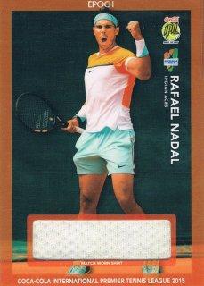 2015 EPOCH IPTL テニスカード Match-Worn Shirt Rafael Nadal 【80枚限定】 ミント渋谷店 マサ様