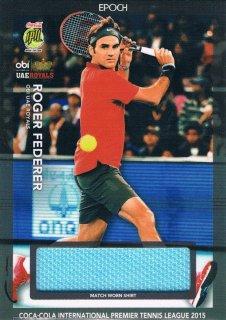 2015 EPOCH IPTL テニスカード Match-Worn Shirt Roger Federer 【60枚限定】 ミント渋谷店 マサ様