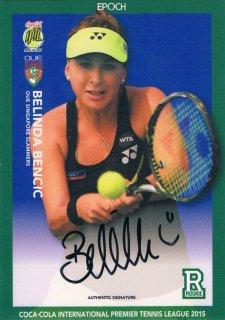 2015 EPOCH IPTL テニスカード Signatures Belinda Bencic 【27枚限定】 ミント渋谷店 マサ様