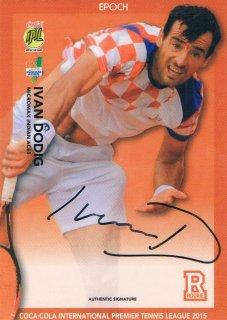 2015 EPOCH IPTL テニスカード Signatures Ivan Dodig 【55枚限定】 ミント渋谷店 マサ様
