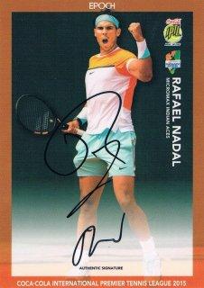 2015 EPOCH IPTL テニスカード Signatures Rafael Nadal 【22枚限定】 ミント渋谷店 マサ様