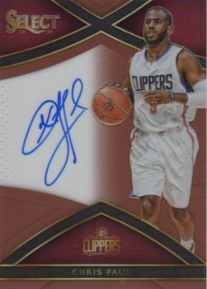 15-16 Panini Select Signature Card (Copper Prizm) Chris Paul 【49枚限定】 MINT梅田店 1CTいったった様