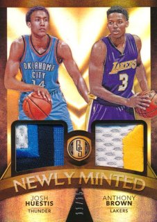 2015-16 PANINI GOLD STANDARD Dual Patch Huestis Brown 【25枚限定】Rookie Star RS54様