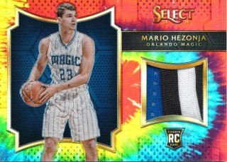 2015-16 PANINI SELECT RC Tye-Die Patch Mario Hezonja【 25枚限定】Rookie Star RS61様