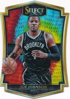 2015-16 PANINI SELECT Tye-Die Prizm Joe Johnson 【25枚限定】Rookie Star RS64様