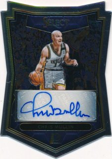 2015-16 PANINI SELECT Die Cut Auto Chris Mullin 【60枚限定】Rookie Star RS66様