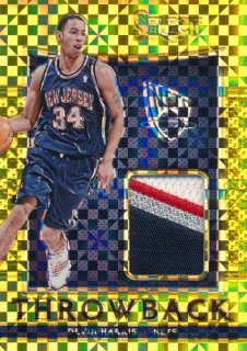 2015-16 PANINI SELECT Gold Patch Devin Harris 【10枚限定】Rookie Star RS66様