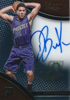 2015-16 PANINI SELECT RC Auto Devin Booker 【199枚限定】Rookie Star RS66様