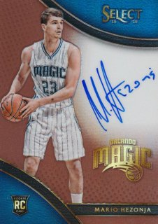 2015-16 PANINI SELECT RC Copper Auto Mario Hezonja 【49枚限定】Rookie Star RS66様