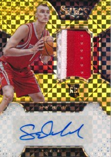 2015-16 PANINI SELECT RC Gold Patch Auto Sam Dekker 【10枚限定】Rookie Star RS66様