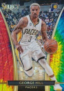 2015-16 PANINI SELECT RC Tye-Die George Hill 【25枚限定】Rookie Star RS67様