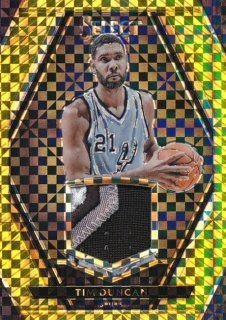 2015-16 PANINI SELECT Gold Patch Tim Duncan 【10枚限定】Rookie Star RS71様