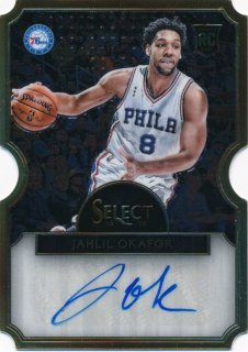 2015-16 PANINI SELECT RC Die Cut Auto Jahlil Okafor【 60枚限定】Rookie Star RS71様
