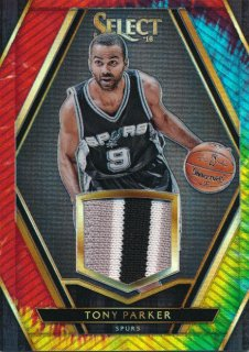 2015-16 PANINI SELECT Tye-Die Patch Tony Parker 【25枚限定】Rookie Star RS71様