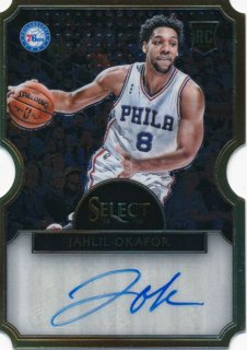 2015-16 PANINI SELECT RC Die Cut Auto Jahlil Okafor【 60枚限定】Rookie Star RS74様