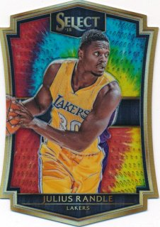 2015-16 PANINI SELECT Tye-Die Prizm Julius Randle【25枚限定】 Rookie Star RS74様